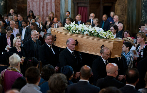 Funeral wake etiquette uk